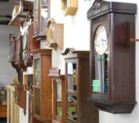 wall-of-clocks